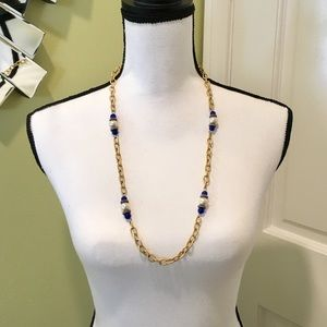 Jewelry - CCO Sale 💎 Gold chain necklace w pearls and beads
